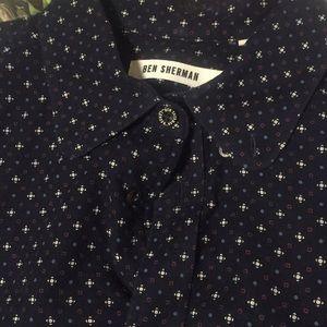 Ben Sherman 100'/. Cotton shirt printed